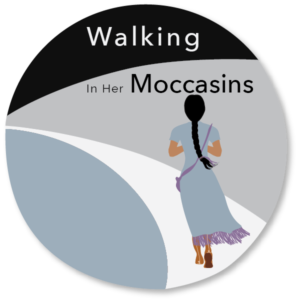Walking in Her Moccasins, violence against women, congress of aboriginal peoples, white ribbon, bundle, toolkit,